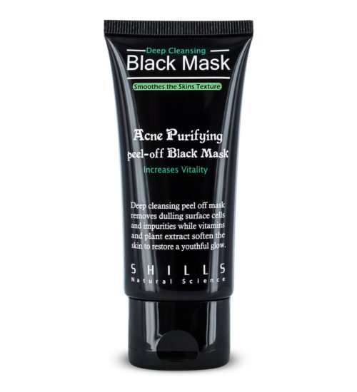Activated Charcoal Purifying Black Peel-off Face Mask – 50ml