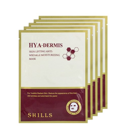 Hya-Dermis Bee Venom Anti-Wrinkle Face Mask (x5)