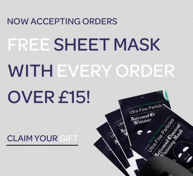 Free Activated Charcoal Sheet Mask