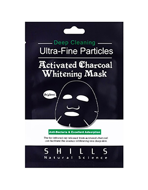 Shills Activated Charcoal Sheet Mask